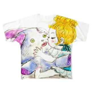 キススキ Full graphic T-shirts