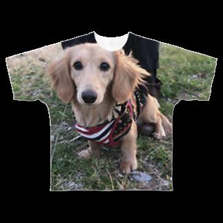0mのずり Full graphic T-shirts