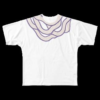 デンパビト闇市のUDON Full graphic T-shirts