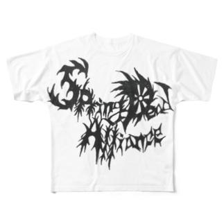 SDA加盟アイテム Full graphic T-shirts