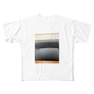 イスの上のほう Full graphic T-shirts