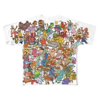 レッツ・パーティー! Full graphic T-shirts