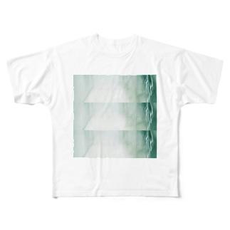 玄関 Full graphic T-shirts