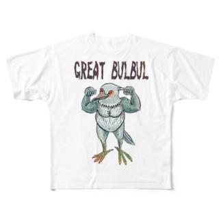 ひよどり Full graphic T-shirts