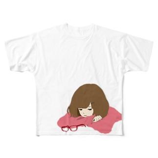乙女は複雑 Full graphic T-shirts