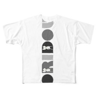 シックなおりどう Full graphic T-shirts
