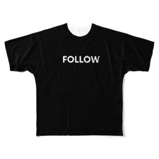 No Asejimi - FMH 黒T Full graphic T-shirts
