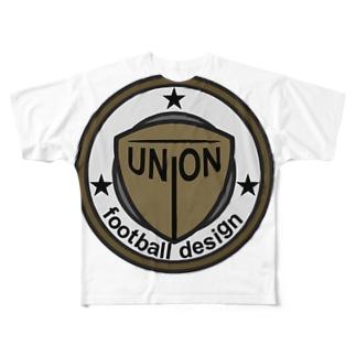 UNION FOOTBALL DESIGN Full graphic T-shirts