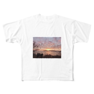 夜明けT Full graphic T-shirts