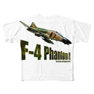 F-4 ファントム II Full graphic T-shirts