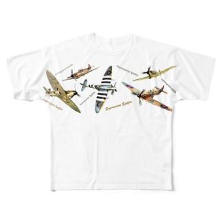 スピットファイア Full graphic T-shirts
