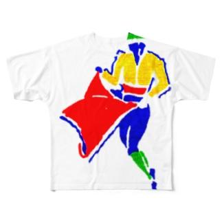 闘牛士 Full graphic T-shirts