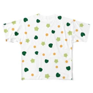 オクラがコッパミジンコ Full graphic T-shirts