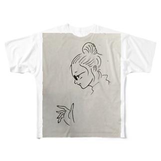 テスト Full graphic T-shirts