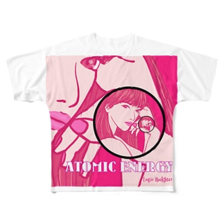 ATOMIC ENERGY  Full graphic T-shirts