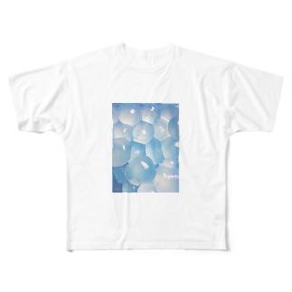 納涼わらびもちT Full graphic T-shirts