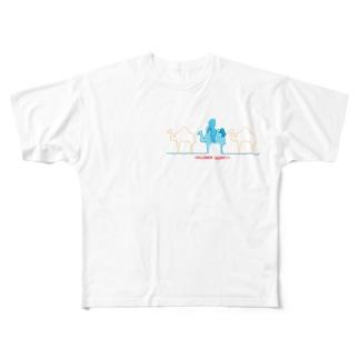 ラクダクンたち Full graphic T-shirts