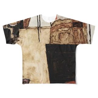 エゴン・シーレ / 1911 /Schiele's Room in Neulengbach / Egon Schiele Full graphic T-shirts