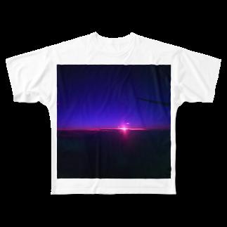 _maron0213の夜 Full graphic T-shirts