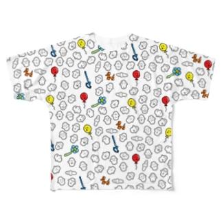 バルーンチャキくん Full graphic T-shirts