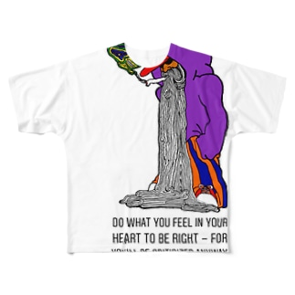 homeless Full graphic T-shirts