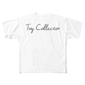 Candy Candyのtoy collector Full graphic T-shirts