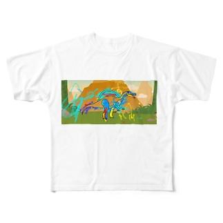 さうるす Full graphic T-shirts