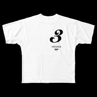 haikokku1のあいうえお Full graphic T-shirts