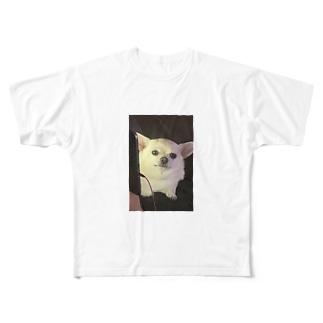 チワワチワワ Full graphic T-shirts