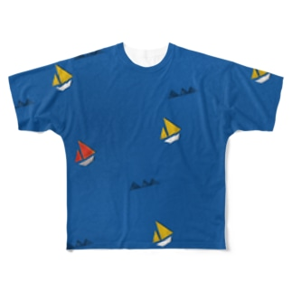 SAIL AWAY Full graphic T-shirts
