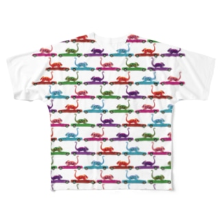 camereon with car_2 Full graphic T-shirts