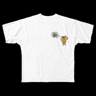 NDANDAのMOUSO Full graphic T-shirts