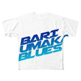BARI UMAKA BLUES Full graphic T-shirts