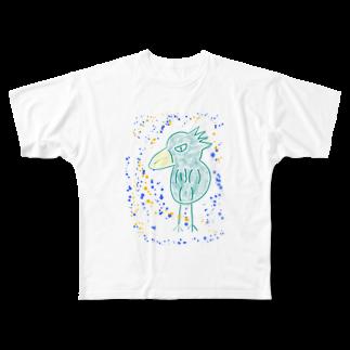 manamanawaruのミドリワルビロ Full graphic T-shirts