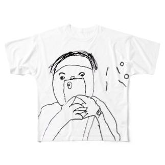 oreteki design shopのイシハラユラデザイン「パパTシャツ」 Full graphic T-shirts