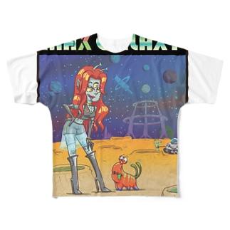 MAX GALAXY Full graphic T-shirts