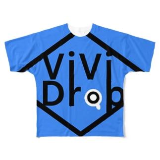 派手目のTシャツ Full graphic T-shirts