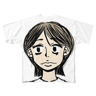 茂美 Full graphic T-shirts