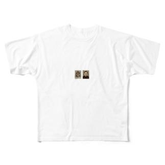obaka2人 Full graphic T-shirts