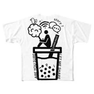 HARAJUKU'19 シリーズ Full graphic T-shirts