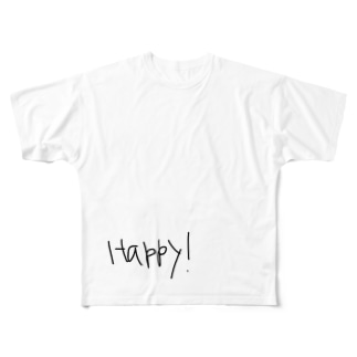 happy! Full graphic T-shirts