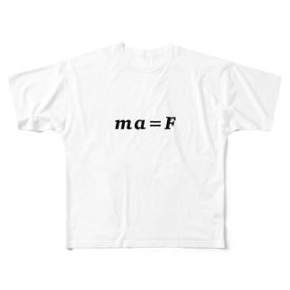 物理方程式シリーズ Full graphic T-shirts