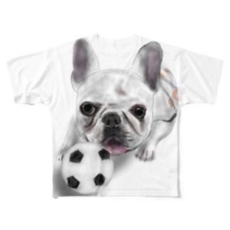フレブル Full graphic T-shirts
