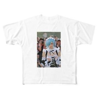 えなこ Full graphic T-shirts