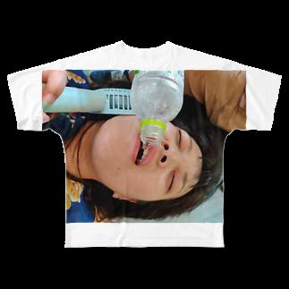 おせきはンの渇き。 Full graphic T-shirts