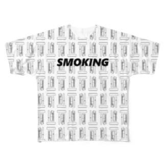 MONO SMOKING Full graphic T-shirts
