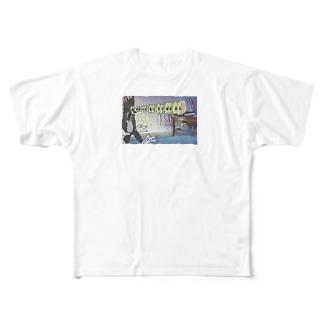 LIQUID&PARC Full graphic T-shirts