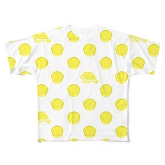 コーンバターの大群クン(バター多め) Full graphic T-shirts