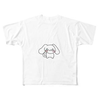 しなもんちゃん Full graphic T-shirts