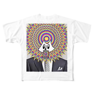 190823/024「psychedelic=Ansony」 Full graphic T-shirts